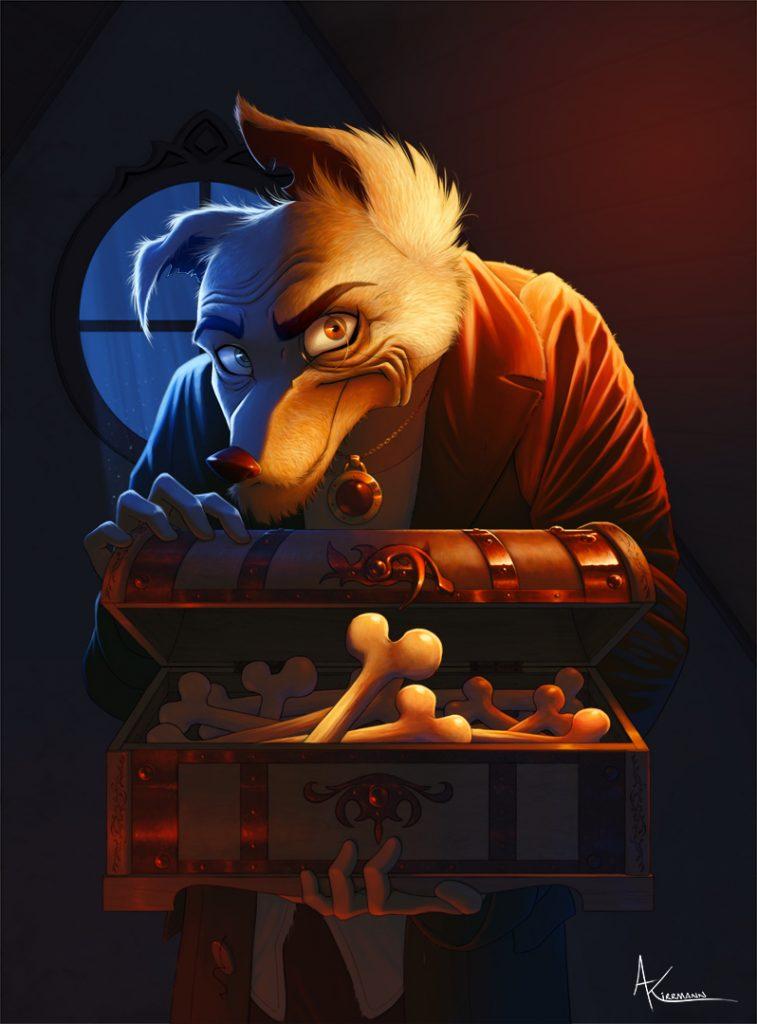 Fagin - Doggy Bag gameboard