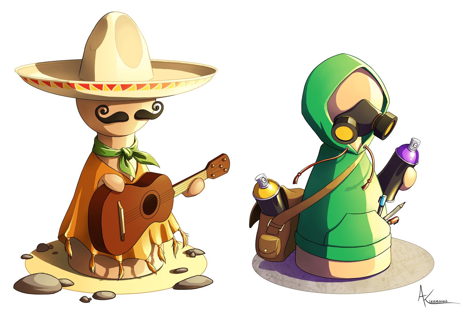 Twinples-graffeur-et-mexicain
