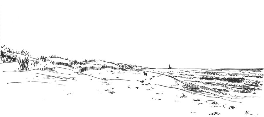 Camargue - Espiguette beach